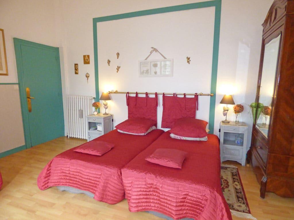 Chambre verte la demeure aux hortensias pleurtuit dinard - La demeure insoupconnee chambre d hotes ...